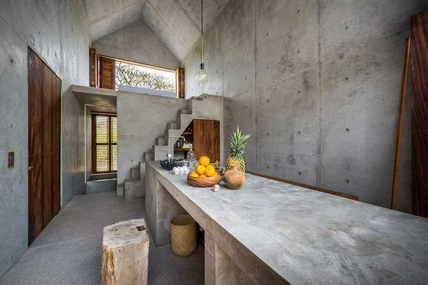 будинок Мексика бетон дерево