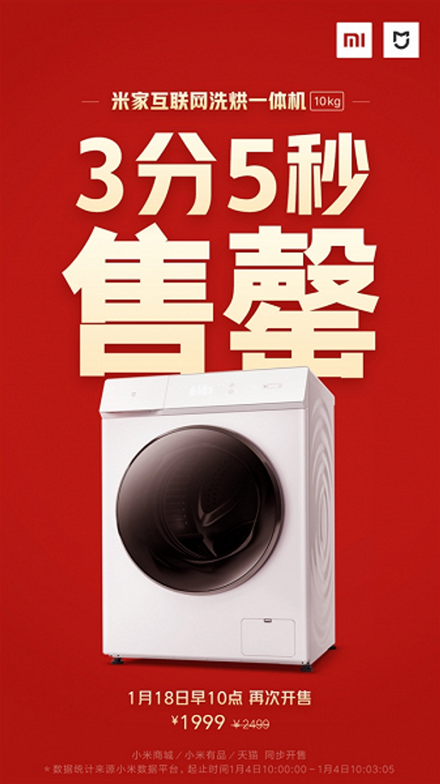 Mijia Smart Washing Machine