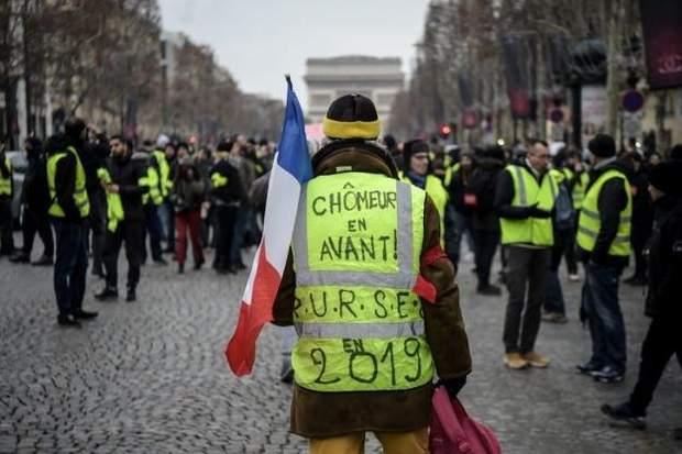 УФранції знову анонсували протести «жовтих жилетів»