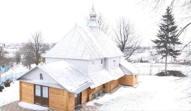 Храм у селі Трибухівці
