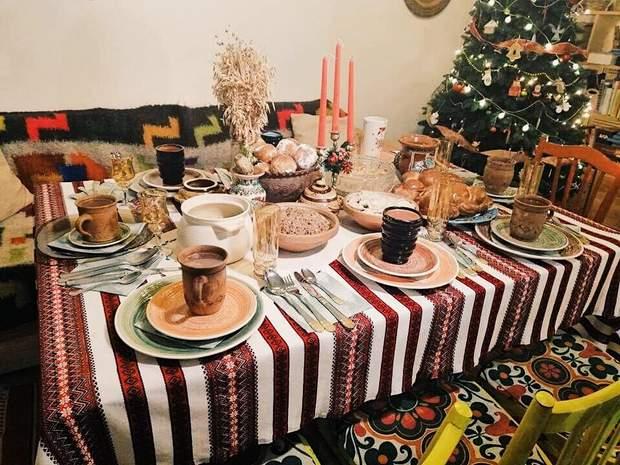 святвечір різдвяний стіл