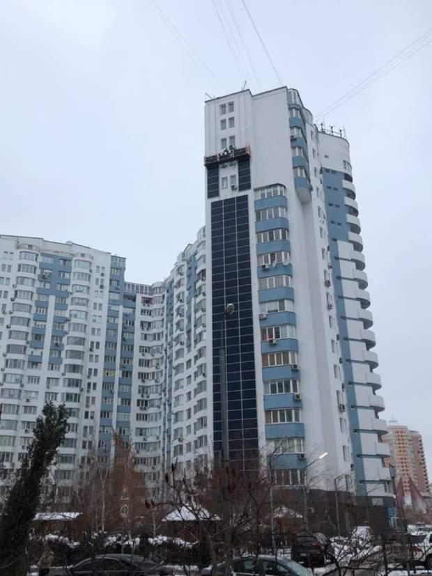 Київ Бажана сонячні панелі