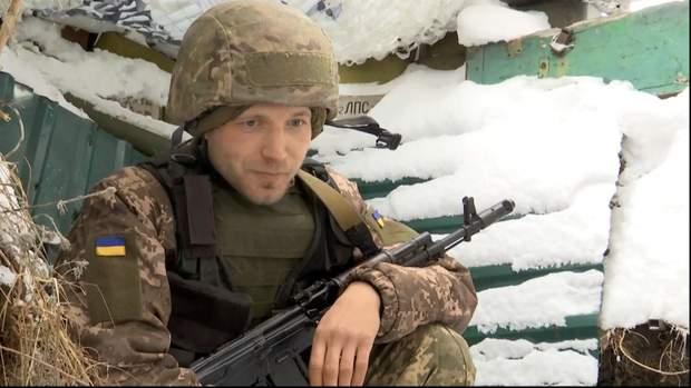 Військовослужбовець ЗСУ Дмитро