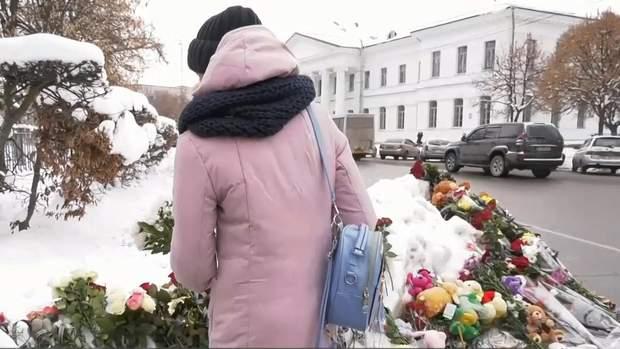 Полтавчани принесли на місце аварії квіти та іграшки
