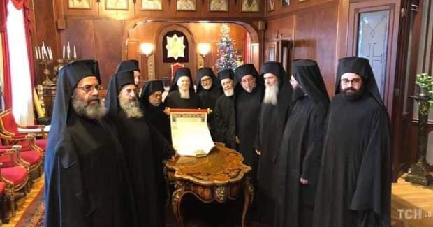 Томос, Україна, релігія, Вселенський патріархат, Стамбул, Константинополь