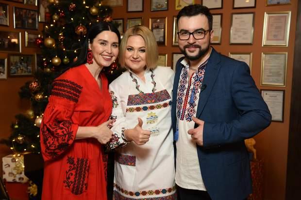 Winter Romantik Fest 2019: українські зірки готували кутю у Яремче 2