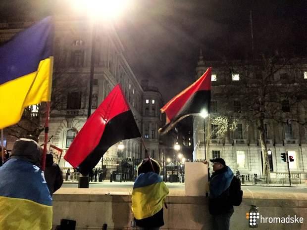 Українці Лондон акція проетсту