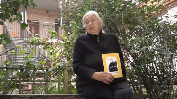Бабуся моряка Олена Вірановська
