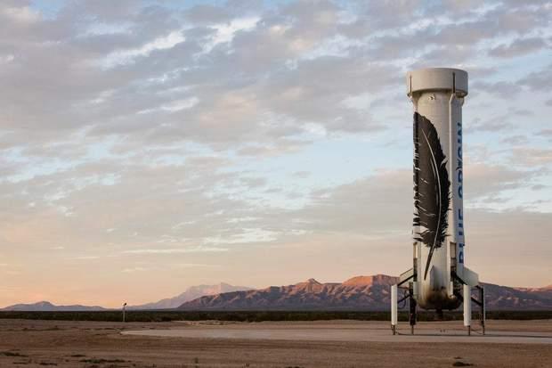 Blue Origin Безос Техас