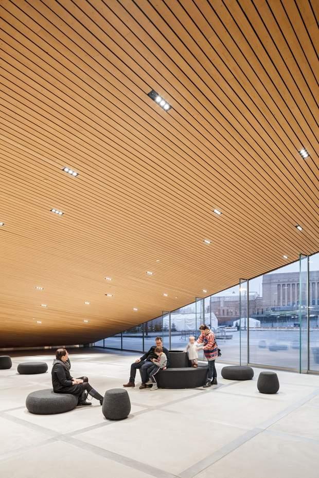 бібліотека Гельсінкі інтер'єр