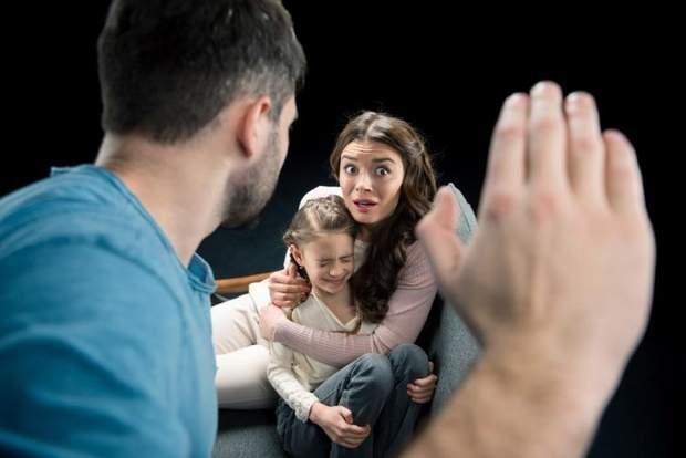 насилля, родина, батько, мати
