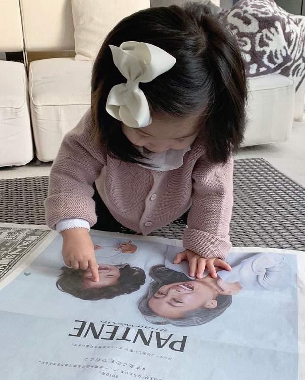 Дитина знялася для реклами Пантін