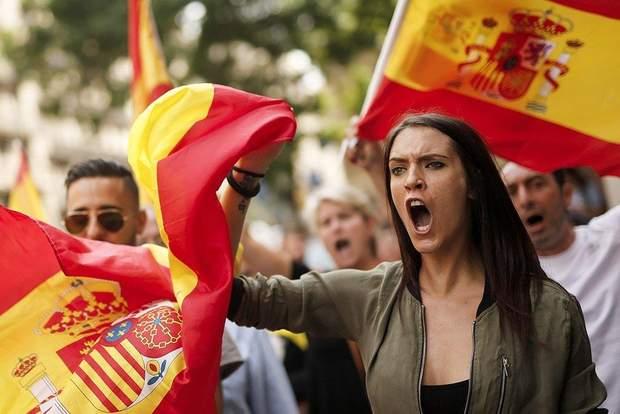 Конфликт в испанской Каталонии