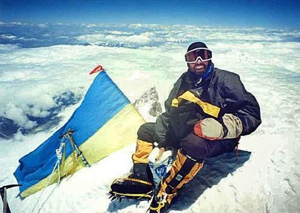 Владислав Терзиул підкорив 14 гірських вершин