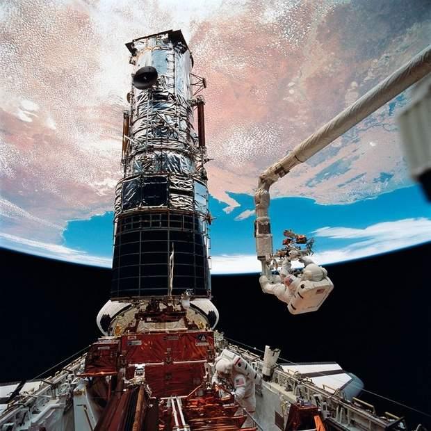 Космічний телескоп Hubble залишився без основної камери