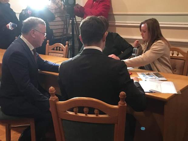 Гриценко ЦВК вибори президента Україна