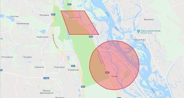 безпілотники польоти заборона карта Конча Заспа
