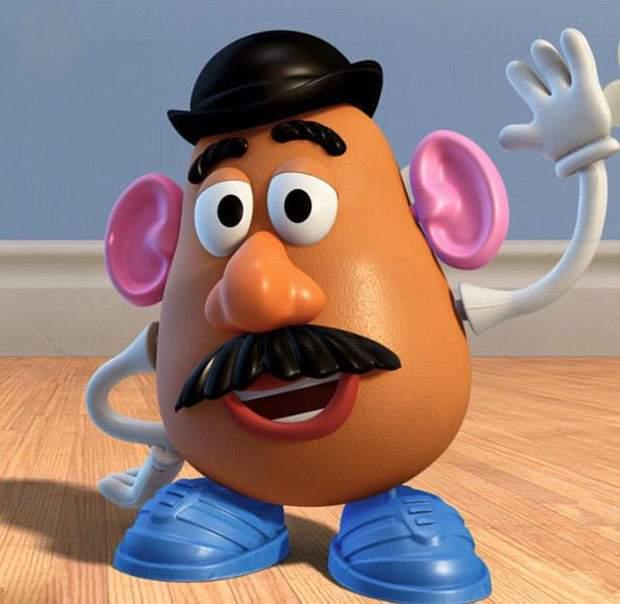 Персонаж реклами Містер картопляна голова