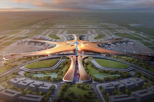 аеропорт Пекін Заха Хадід