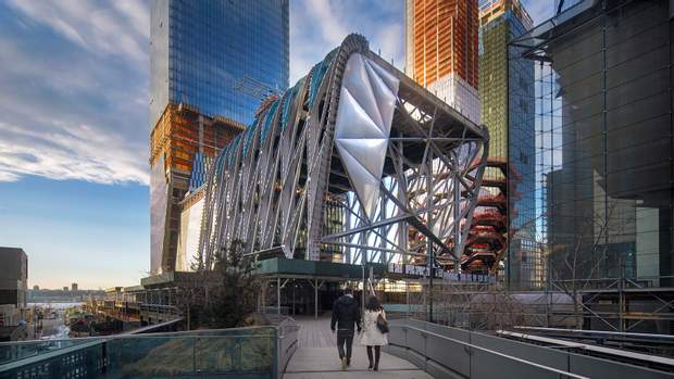 Нью-Йорк Манхеттен The Shed