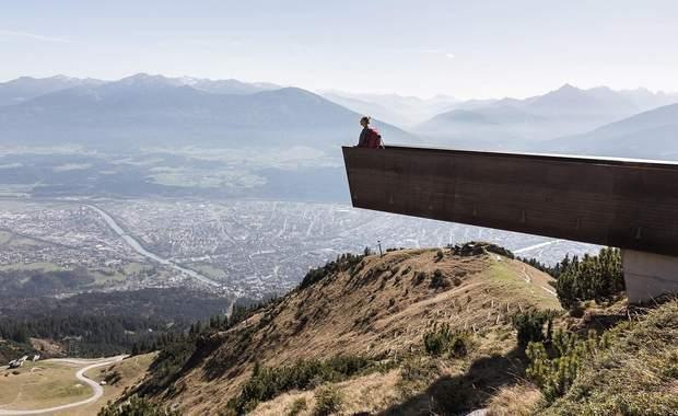 Оглядовий майданчик Австрія Альпи