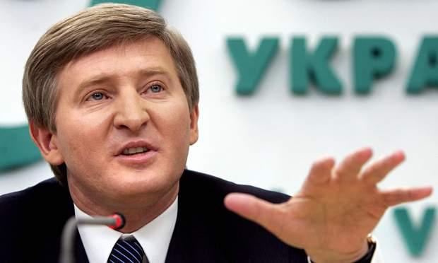 Український бізнесмен та мільярдер Рінат Ахметов