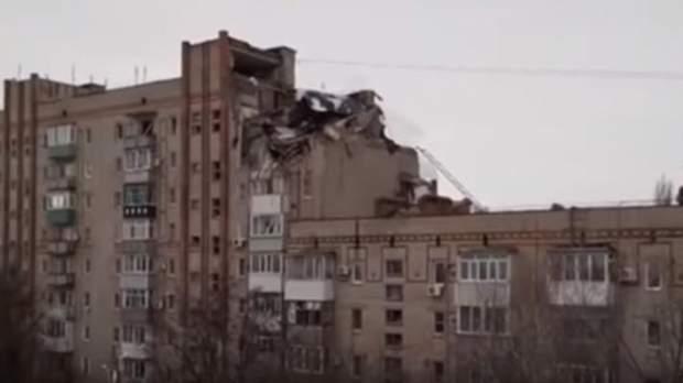 обвал будинку в росії