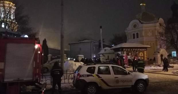 пожежа у Києво-Печерській лаврі