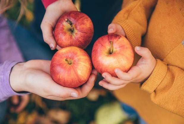 Щодня вживайте два яблука зі шкіркою