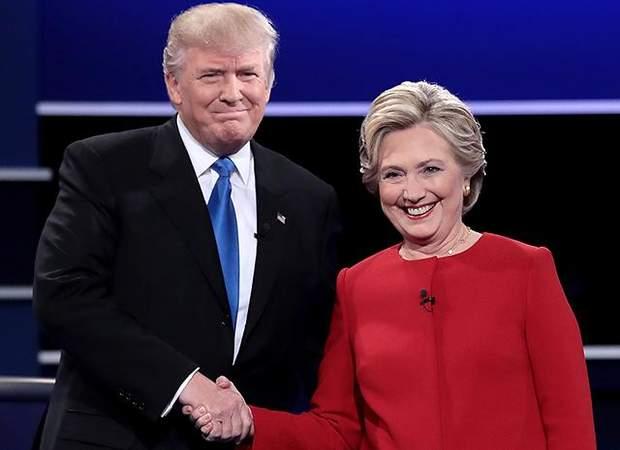 Клинтон, Трамп