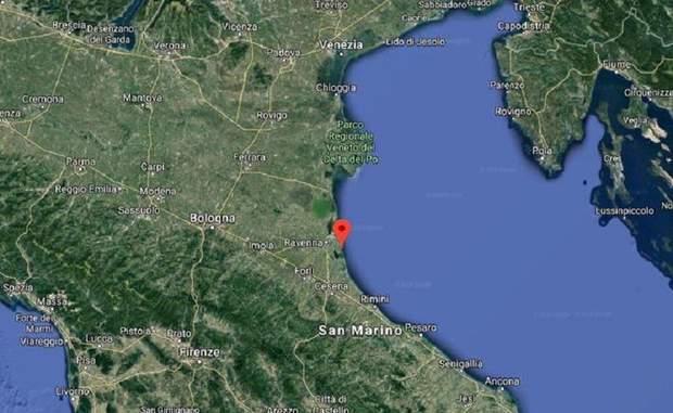 Італія, Землетрус