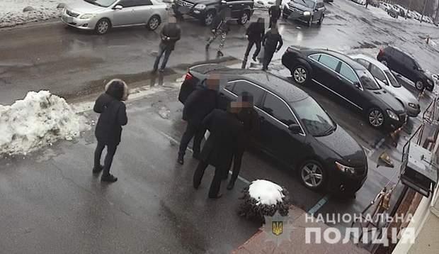 Напад на Дзідзьо в Києві: фото з місця інциденту