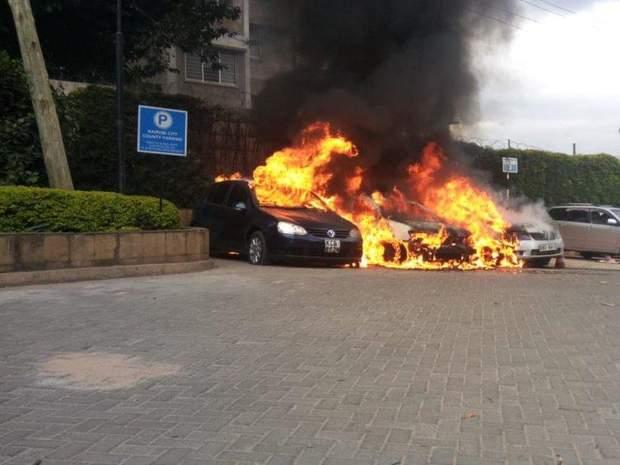 Нейробі, Кенія, теракт