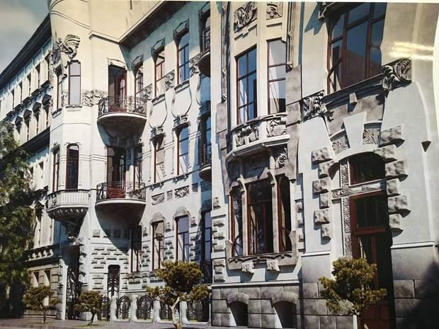 Будинок зі зміями реставрація Київ