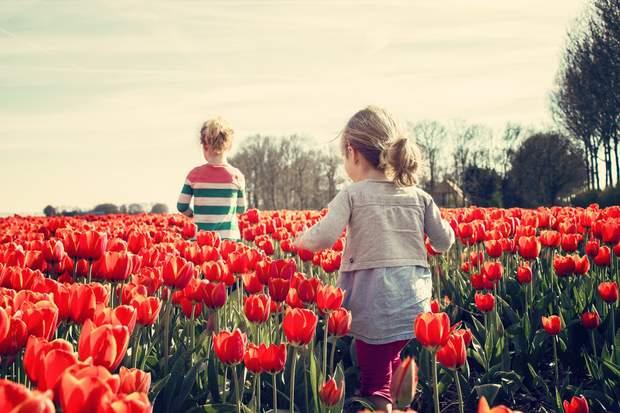 Весна діти