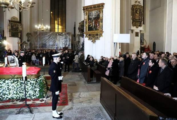 Похорон мера Гданська