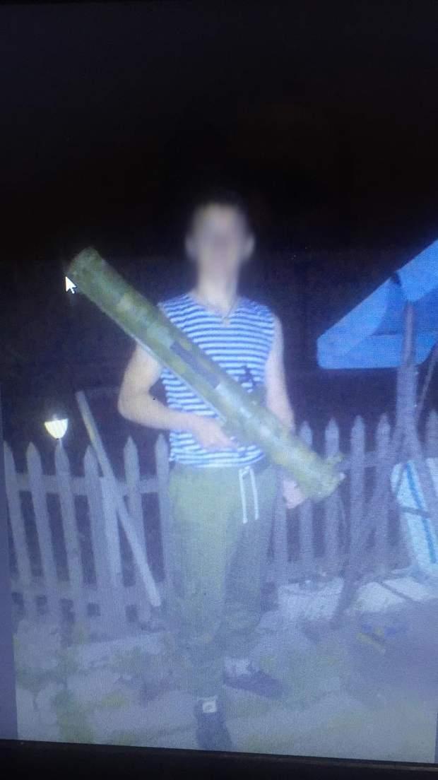 Молодий бойовик працював на Росію