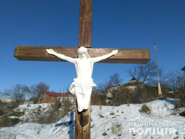 Иисус Христос, Умань, гипсовый распятие, Умань, Черкасская, религия