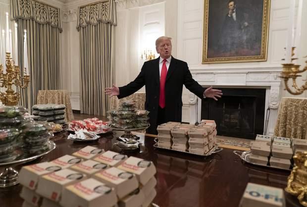 Прием Трампа в Белом Доме