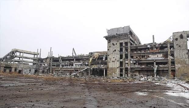 Донецький аеропорт сьогодні