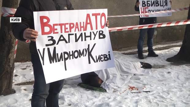 війна на Донбасі АТО Олійник вбивство біля Золотих воріт