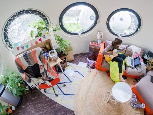 Нідерланди будинок куля інтер'єр