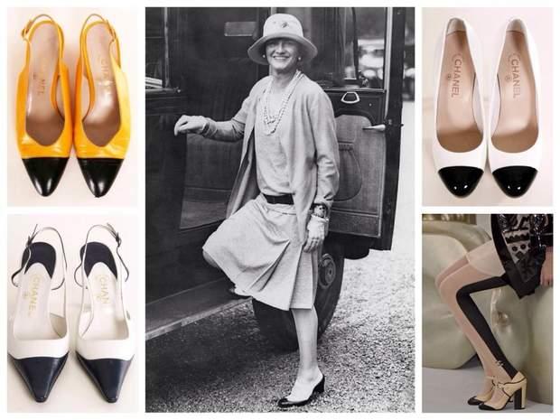 Вінтажне взуття Chanel