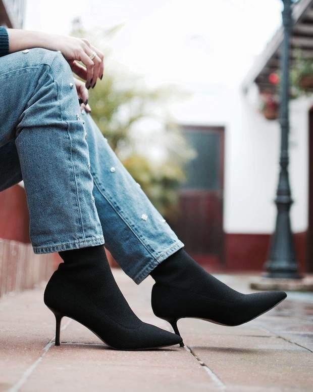 Приклад взуття кіттен-хілс