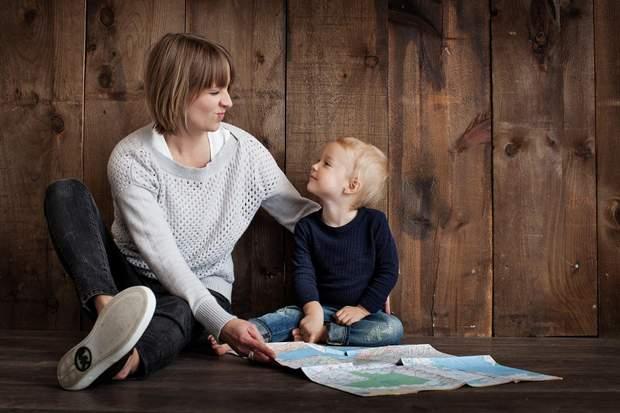 Мати з сином