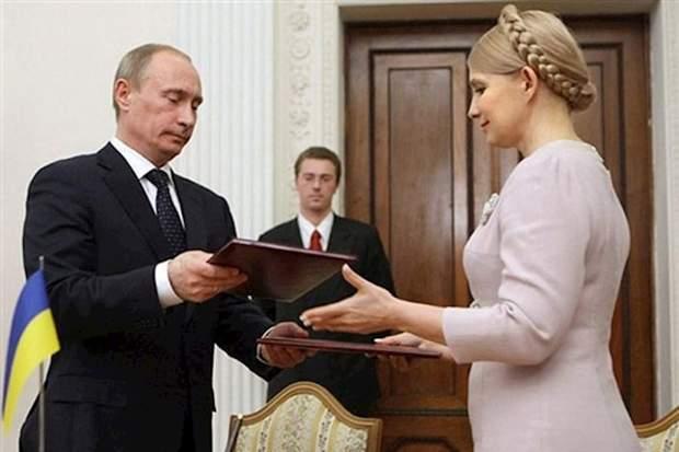 газові контракти Путін Тимошенко