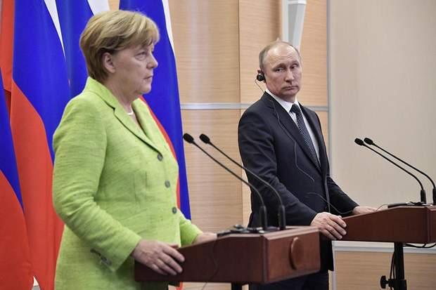 Путін газ Німеччина Північний потік-2