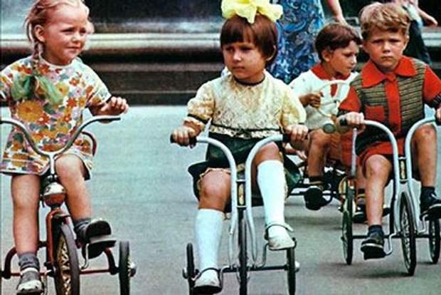 У Радянському союзі дітей привчали бути слухняними
