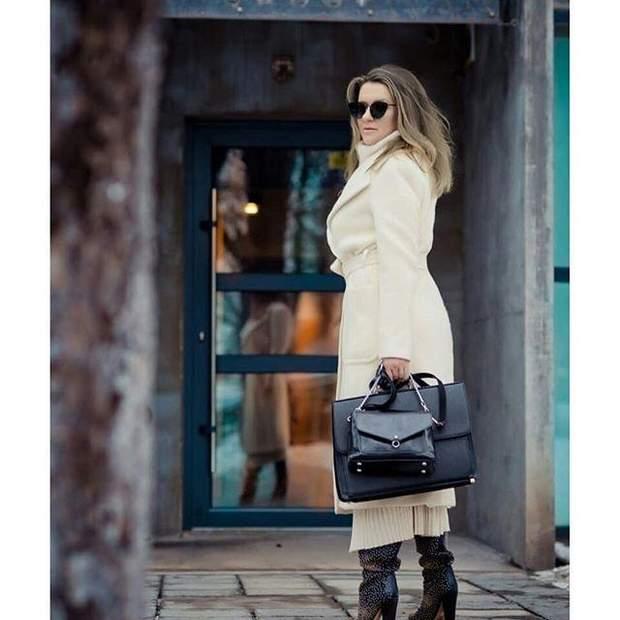 Наталія Могилевська приміряла трендове вбрання