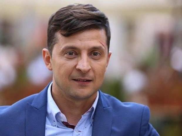 Незареєстрований кандидат у президенти Володимир Зеленський